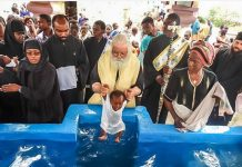 Baptême orthodoxe au Congo - orthodoxie.com