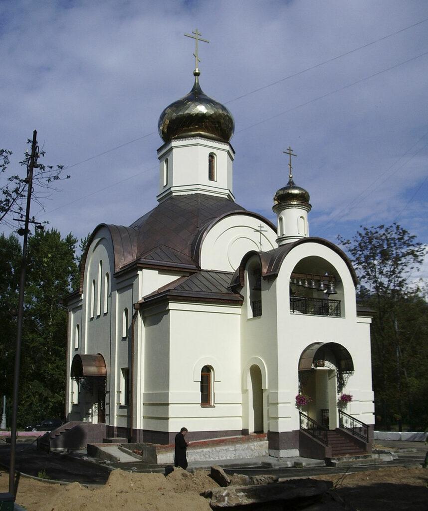 La première église de Moscou dédiée aux martyrs de la famille impériale