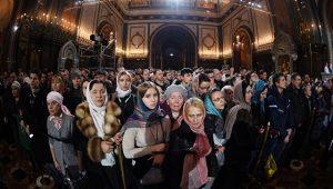 Près de 600 000 personnes ont assisté aux offices de Noël à Moscou