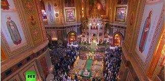 cathédrale du Christ Sauveur à Moscou - orthodoxie.com
