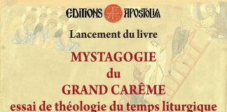 Couverture de Mystagogie du Grand Carême