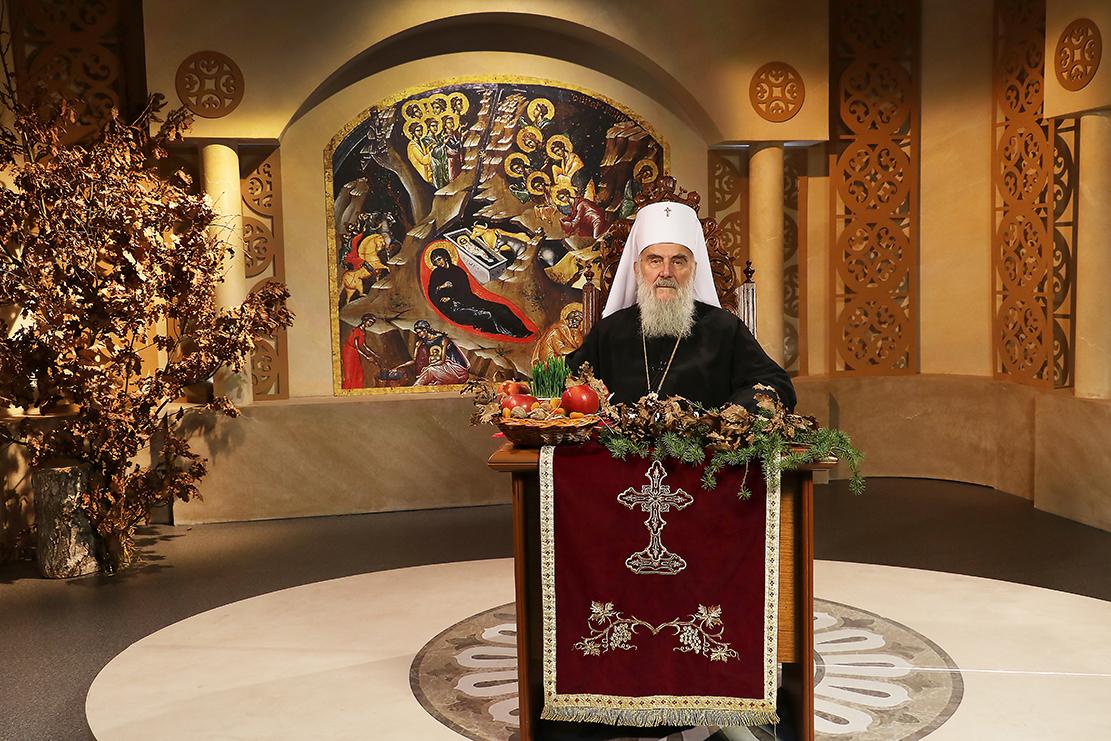 Message de Noël 2017  du patriarche Irénée et de l'Assemblée des évêques orthodoxes serbes