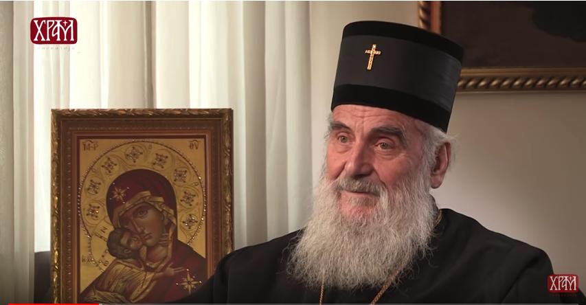 Le patriarche serbe Irénée s'exprime sur le Kosovo, l'Église de Macédoine et la visite éventuelle du pape en Serbie