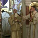 Patriarche Irénée célébrant la fête de saint Sava à Belgrade
