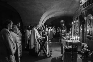 Liturgie orthodoxe roumaine à Paris en l'honneur de sainte Geneviève