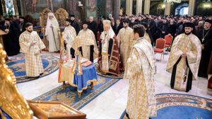 Office d'action de grâce à l'occasion de l'anniversaire de la réunion des Principautés roumaines