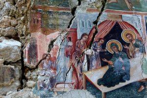 Restauration d'anciennes églises orthodoxes en Albanie
