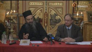 Vidéo de la présentation du livre du père Macaire :  «Mystagogie du Grand Carême. Essai de théologie du temps liturgique»
