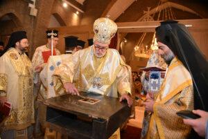 Consécration d'une église orthodoxe à Ostende