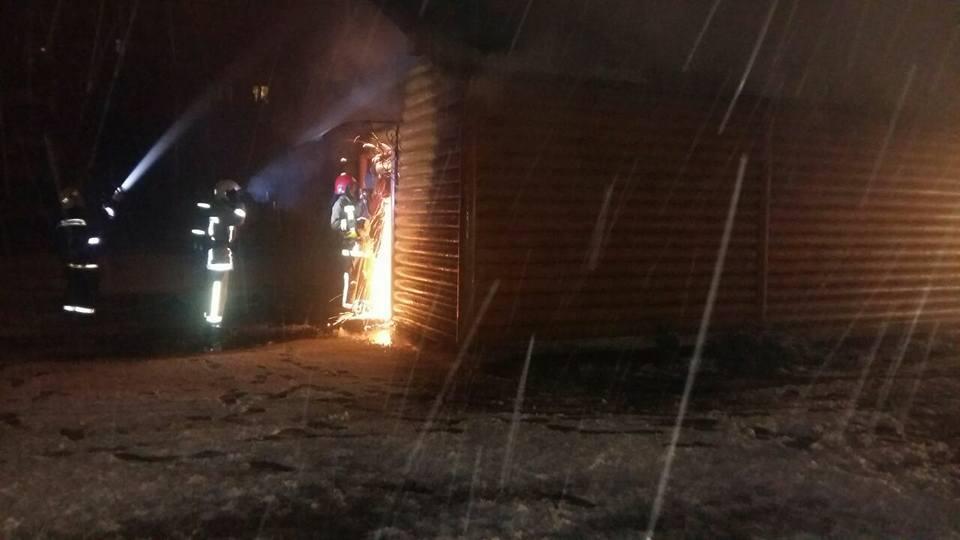 Incendie à Eglise Saint-Vladimir à Lvov