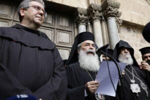 La décision de taxer les Églises de Jérusalem est suspendue