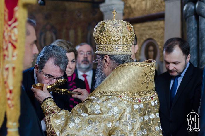 Les ambassadeurs en Ukraine des pays de tradition orthodoxe ont prié à la laure des Grottes de Kiev le Dimanche de l'orthodoxie