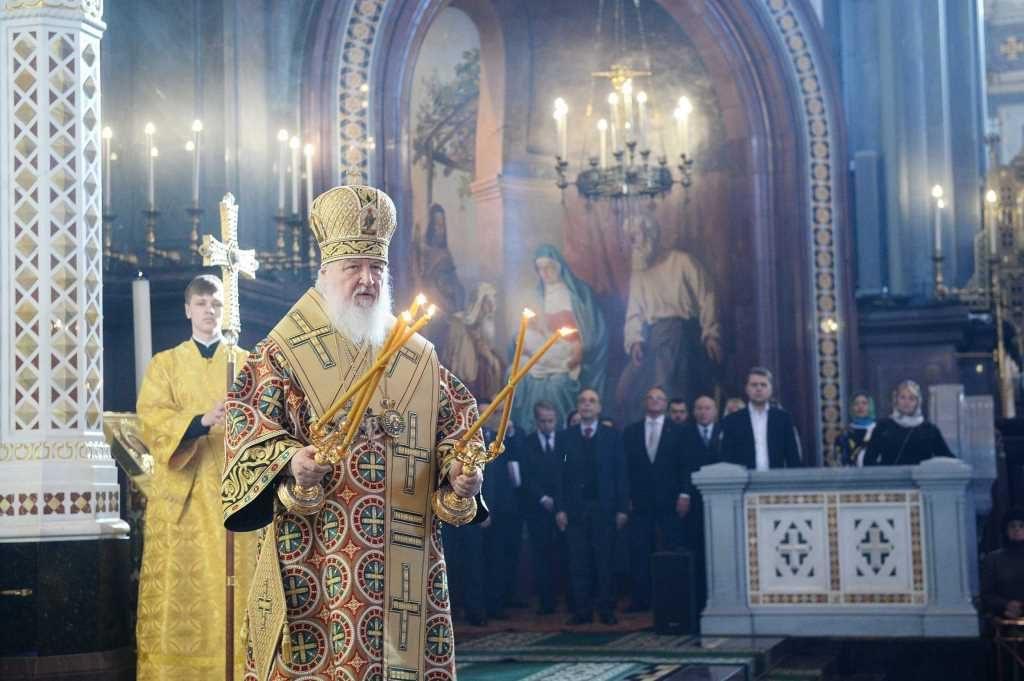 Homélie du patriarche de Moscou Cyrille à l'occasion du dimanche de l'orthodoxie