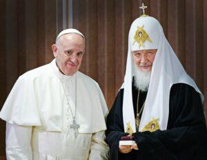 Entretien téléphonique entre le patriarche Cyrille de Moscou et le pape François sur la situation en Syrie