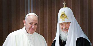 Pape François patriarche Cyrille
