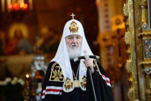Le patriarche Cyrille: «Chaque gouvernant doit se rappeler qu'il dépend de Dieu»