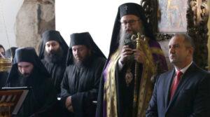 Deux métropolites de l'Église bulgare ont accompagné le président bulgare Rumen Radev lors de sa visite en République de Macédoine