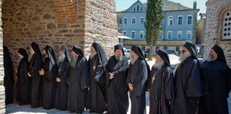 Sainte communauté du Mont-Athos