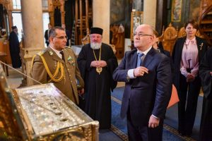 Le ministre géorgien de la Défense a visité le monastère Antime de Bucarest