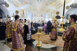 Le patriarche de Moscou Cyrille a célébré un office de requiem à l'occasion du dixième anniversaire du décès du métropolite Laur, primat de l'Église russe hors-frontières