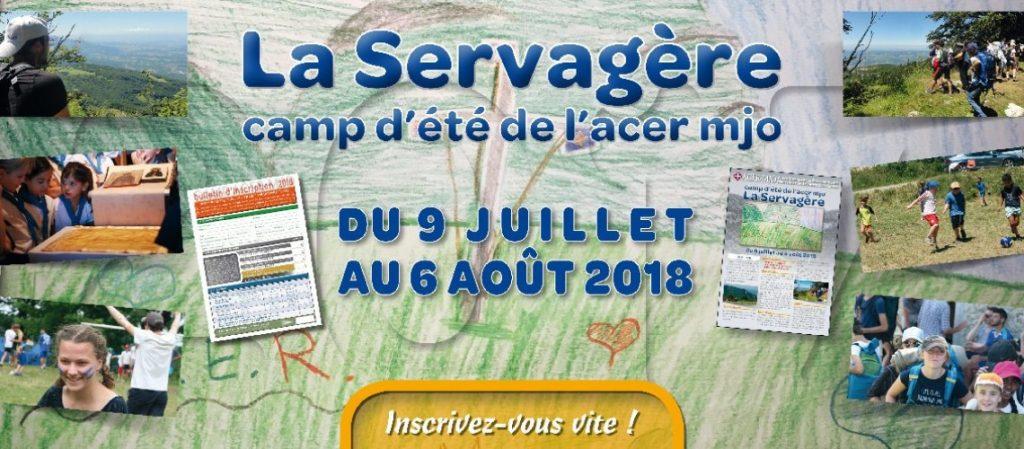 Ouverture des inscriptions pour le camp d'été de l'Acer-Mjo