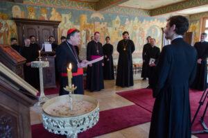 Le cardinal Kurt Koch a rendu visite au Séminaire orthodoxe russe