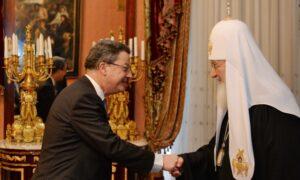 Le patriarche Cyrille a rencontré l'ambassadeur de Suisse en Russie