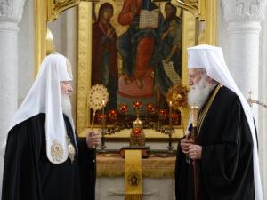 Le patriarche de Moscou Cyrille est arrivé à Sofia