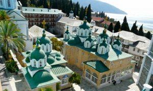 La majorité des pèlerins du Mont Athos sont des Russes
