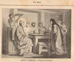 Conférence du père Noël Tanazacq : «Saint Germain de Paris. La foi chrétienne en Gaule à l'époque mérovingienne» – 14 mars