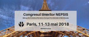 Programme du congrès annuel de « Nepsis », l'association des jeunes de la Métropole orthodoxe roumaine d'Europe occidentale et méridionale