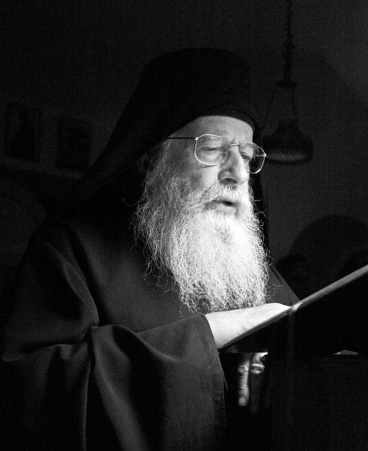 Archimandrite Placide Deseille fell asleep in the Lord a year ago