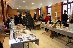 Les stands présents au 3e Salon du livre orthodoxe