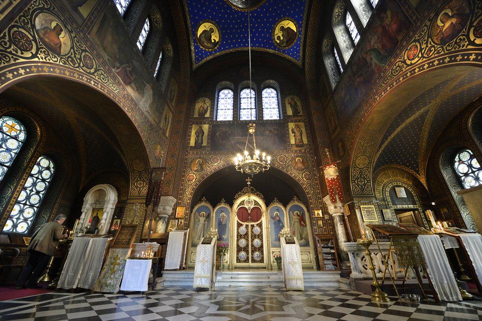 Vevey (Suisse) : «L'église orthodoxe russe, un joyau en péril»