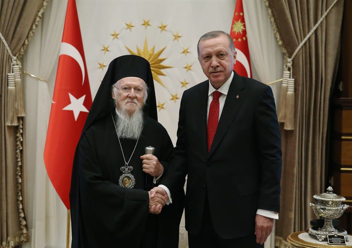 Erdogan proposed reopening a seminar in exchange for a mosque in Athens