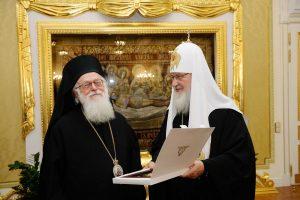 Le patriarche de Moscou Cyrille fera sa première visite en Albanie fin avril