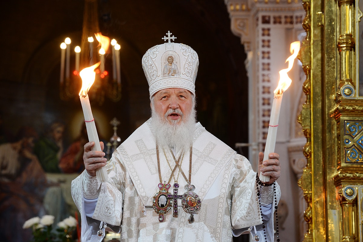 Patriarch Kirill's message for Holy Pascha 2019