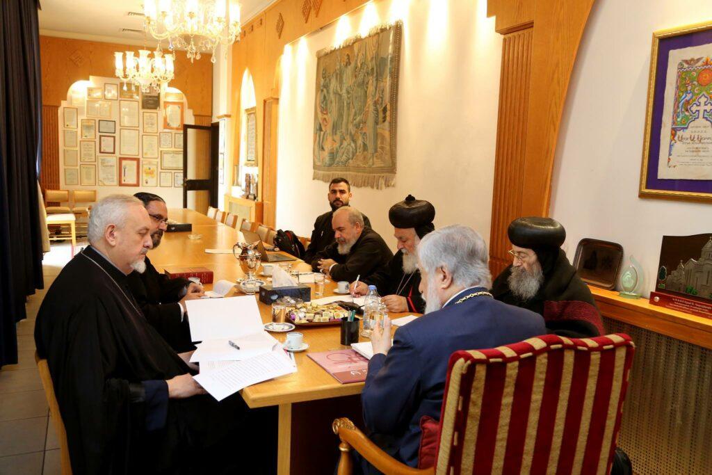 Réunion des co-présidents du dialogue entre l'Église orthodoxe et les Églises orthodoxes orientales