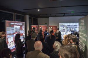 Inauguration de l'exposition « Nouveaux martyrs et confesseurs de Russie » au centre culturel russe de Paris