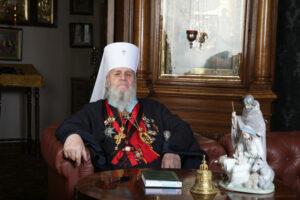 Le métropolite de Tallin et de toute l'Estonie Corneille (Patriarcat de Moscou) est décédé