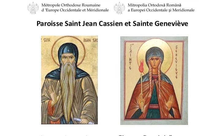 Concert donné par le choeur de la cathédrale roumaine de Paris à Trappes – 29 avril
