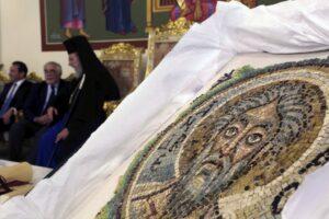 Une mosaïque du VIe siècle représentant l'apôtre saint André a été rendue à Chypre