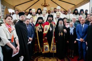 Sacre épiscopal de Mgr Athanase de Bogdania, évêque vicaire du diocèse orthodoxe roumain d'Italie