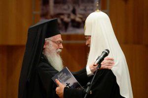 Interview du patriarche Cyrille de Moscou à la radiotélévision nationale albanaise