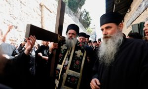 Les chrétiens de la vieille ville de Jérusalem se sentent «menacés» par les colons