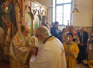Patriarche Jérusalem à Reineh