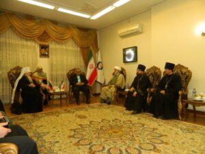 Iran : à Téhéran, la 11e réunion de la Commission mixte pour le dialogue « orthodoxie-islam », a été consacrée aux problèmes écologiques