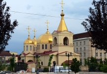 Tentative de prise d'otage dans église orthodoxe à Grozny (Tchétchénie)
