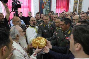 L'état-major de l'armée serbe a célébré son saint patron, saint Georges