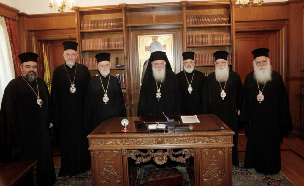 An Ecumenical Patriarchate Commission Visited the Holy Synod of the Church of Greece to Inform them of Developments in the Ukraine